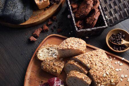 Foto für bread cookies pastry bakery. baked homemade food - Lizenzfreies Bild