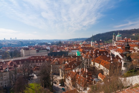 Cityscape of old Prague in Czech Republic, Europe