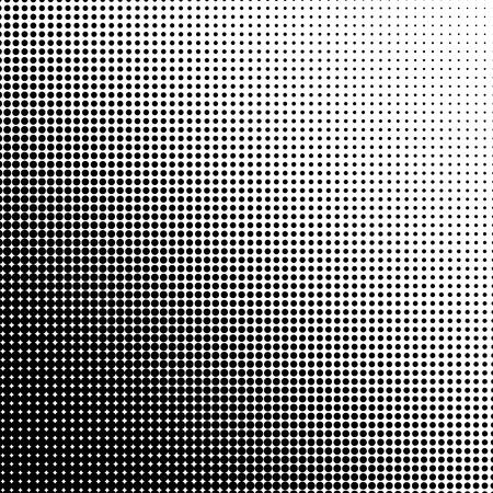 Illustration for Halftone illustrator. Halftone dots. Halftone effect. Halftone pattern. Vector halftone dots. Dots on  background. Vector Halftone Texture - Royalty Free Image