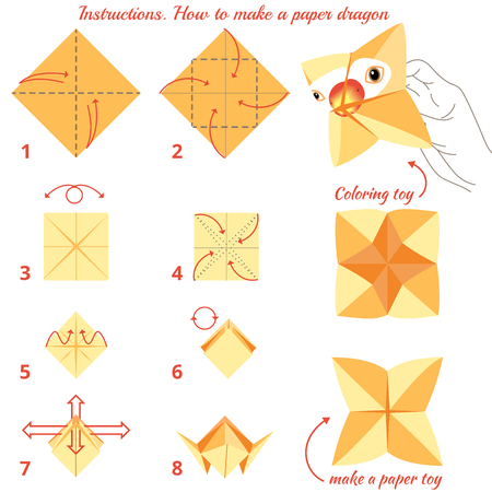 Origami Bird | How To Make A Paper Bird That Can Fly - Easy ... | 450x450