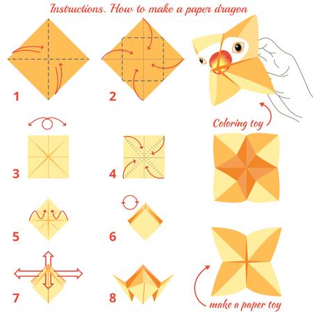 Origami Dragon Bookmark - Jo Nakashima | 450x450