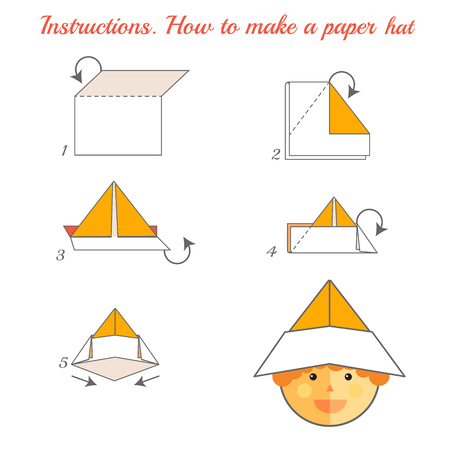 origami+images+with+instructions | Origami Instruction: A Samurai ... | 450x450