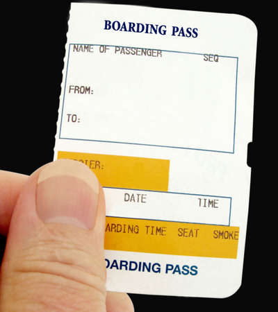 Boarding Pass for any form of transport