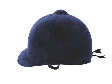 Equestrian headgear for use in horse jumping sports in sports competitions etc.