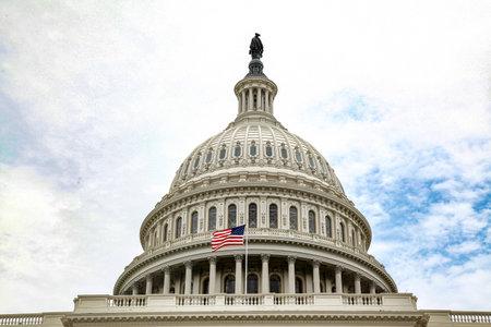Photo pour United States Capitol Building in Washington DC,USA.United States Congress. - image libre de droit