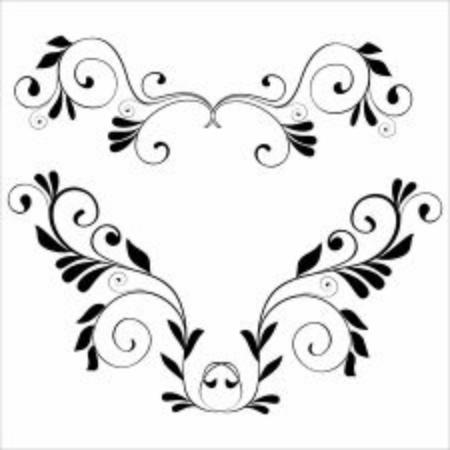 Illustration pour Illustration vector graphic of floral ornament. perfect for frame or border - image libre de droit