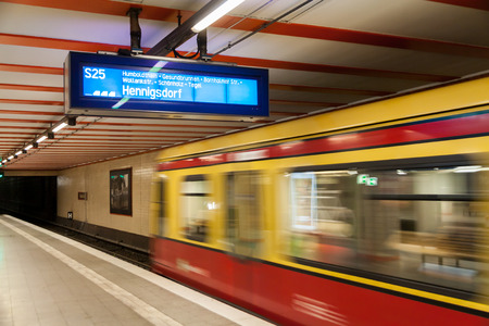 Photo pour S Bahn Berlin - image libre de droit