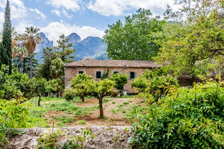 Photo for The Garden of the Jardines de Alfabia - Royalty Free Image