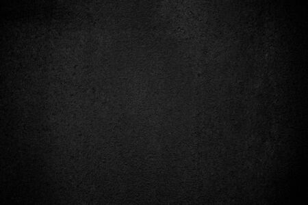 Photo for Black wall texture pattern rough background. Old black grunge background. Dark wallpaper copy space for design. - Royalty Free Image