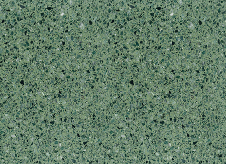 Foto de Green mottled terrazzo floor tile surface texture background. - Imagen libre de derechos