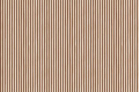 Photo pour Brown ribbed wooden wall panel texture background. - image libre de droit