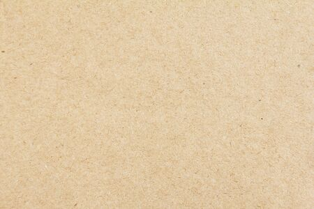 Photo for Brown beige sheet of craft cardboard paper texture background. - Royalty Free Image