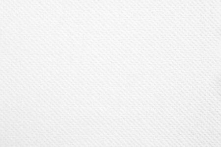 Foto de Closeup white blank paper napkin with rough surface texture background. - Imagen libre de derechos