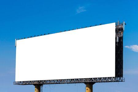 Photo pour Blank billboard for new advertisement - image libre de droit
