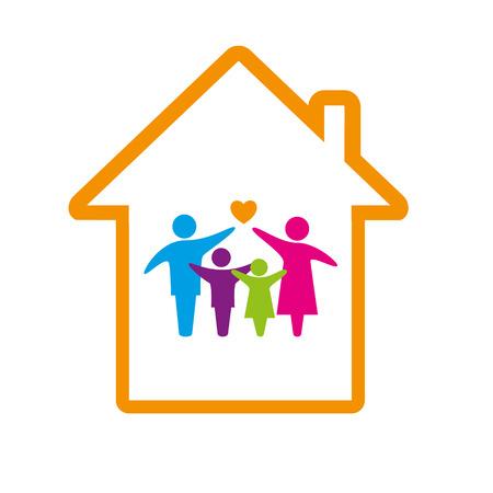Family logo concept.