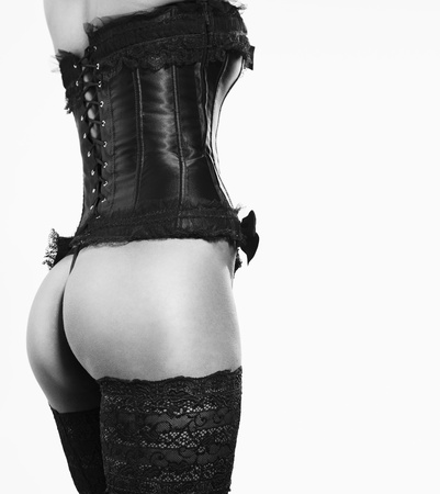 sexy girl in Corsets and Stockings