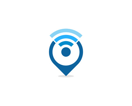 Illustration pour Wifi Icon Logo Design Element - image libre de droit