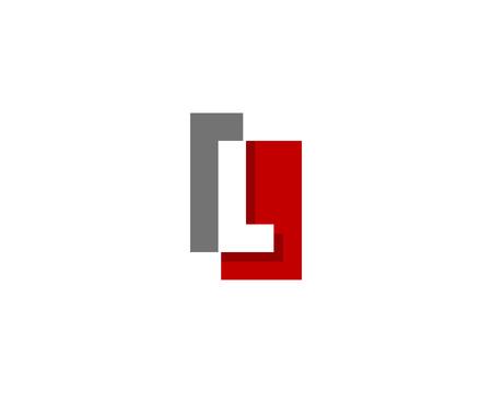 Letter L Icon Logo Design Element