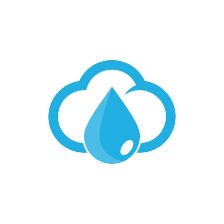 Liquid and Cloud Icon Design