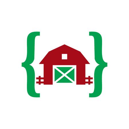 Farm Code Icon Design