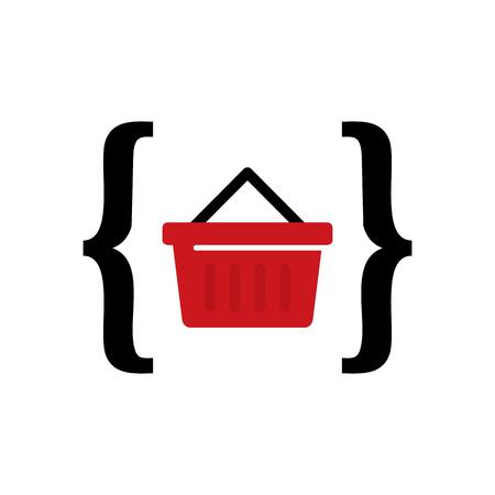 Shop Code Icon Design