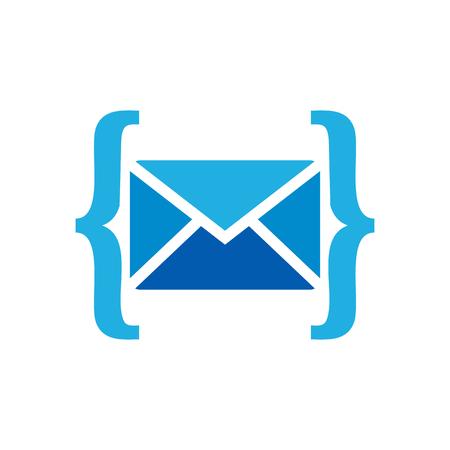 Mail Code Icon Design