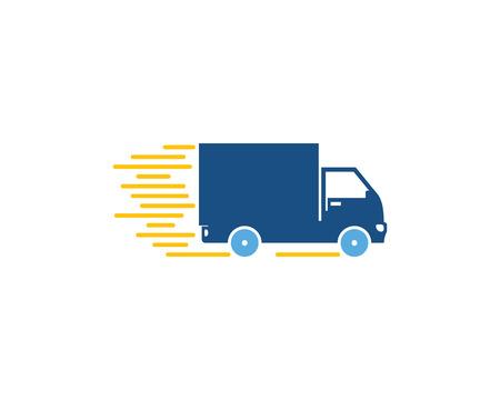 Photo pour Express Logistic Logo Icon Design - image libre de droit