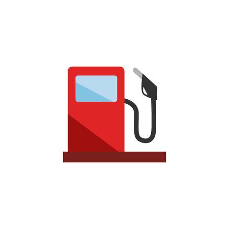 Illustration pour Gas Station Logo Icon Design - image libre de droit