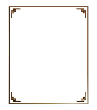 Illustration pour Vector illustration of art deco borders and frames. Creative pattern in the style of the 1920s for your design. - image libre de droit