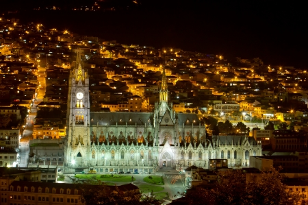 Cathedral of Quito, Ecuador