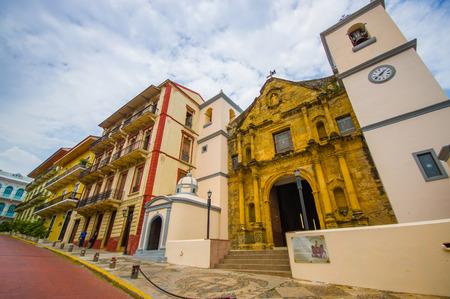 streets of tha Casco viejo in Panama city