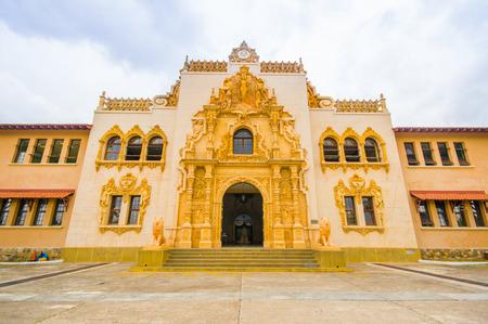 SANTIAGO, PANAMA - APRIL 19, 2015: Escuela Normal J D Arrosemena in the city of Santiago