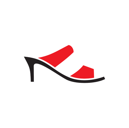 Shoe icon on background for graphic and web design. Simple vector sign. Internet concept symbol for website button or mobile app.