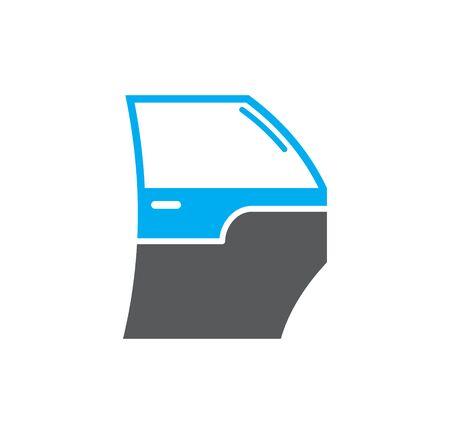 Illustration pour Car part related icon on background for graphic and web design. Simple illustration. Internet concept symbol for website button or mobile app - image libre de droit