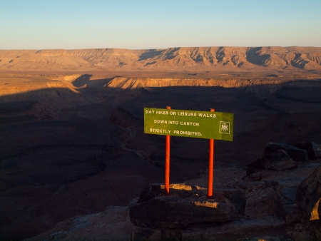Fish River Canyon - The second largest canyon in the world (Namibia)