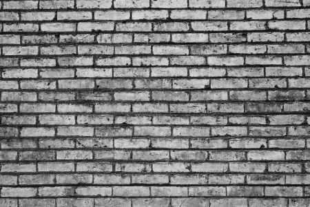 black and white brick abstra