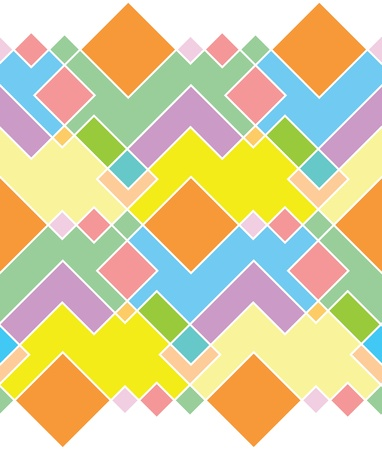 seamless pattern of bright rectangles of different colors