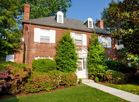 rgian Colonial Style Brick Single Family House Washington DC