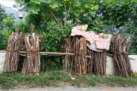firewood of H'mong in north of Vietnam.