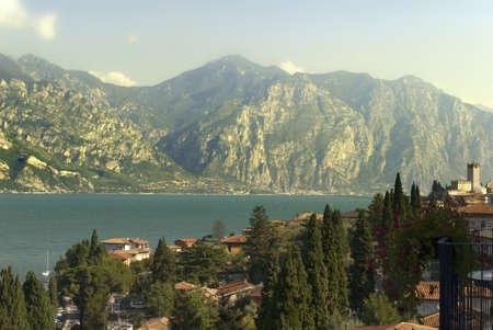Malcesine on Lake Garda in Northern Italy