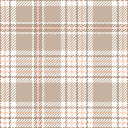Illustration pour Plaid check pattern. Seamless fabric texture. - image libre de droit