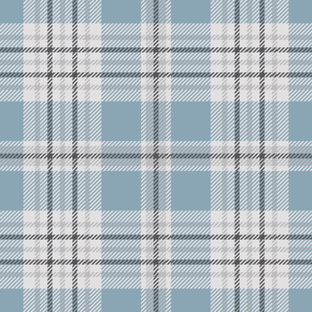 Illustration for Plaid check pattern. Seamless fabric texture. - Royalty Free Image