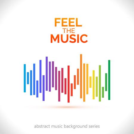 Illustration pour Equalizer icon. Can be used as logo to music album, dj set,concert banner. Vector illustration. - image libre de droit