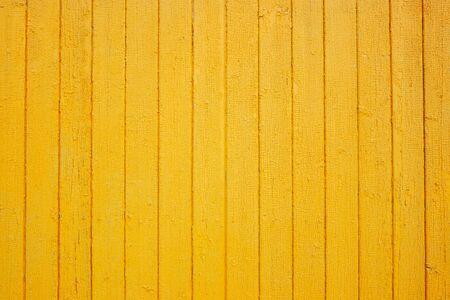 Photo pour Wooden yellow wall texture. Grain wood background. Place for text. Texture for design. Bright wood - image libre de droit