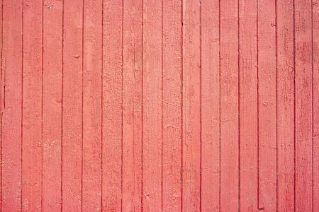 Photo pour Red painted old and aged wood texture. Red wooden texture for design. Grungy painted wall - image libre de droit