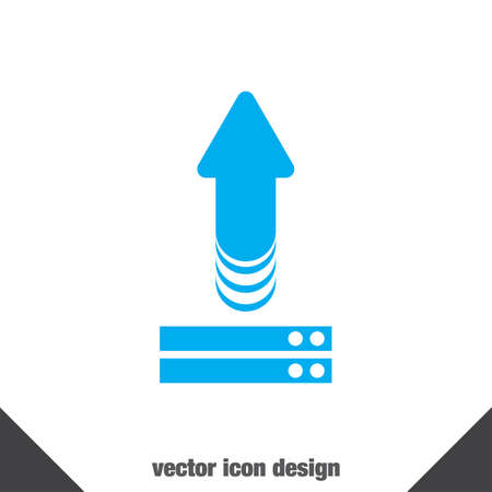 upload vector icon