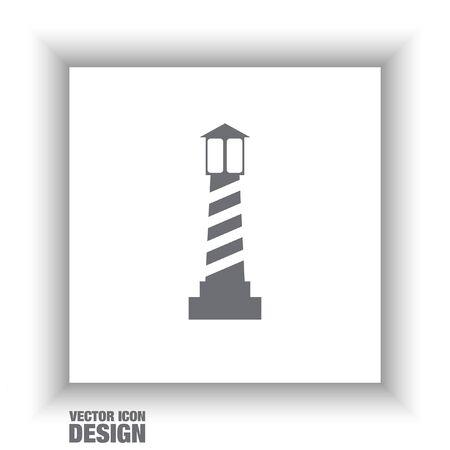 lighthouse vector icon