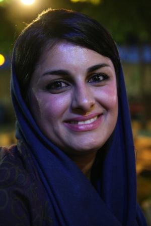 Beautiful iranian young woman im Shiraz, Iran