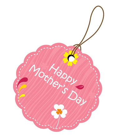 Happy mother's day tag