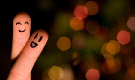 Finger hug 3, with nice bokeh